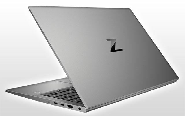 HP ZBook Firefly 14 G8 Mobile Workstation, back view