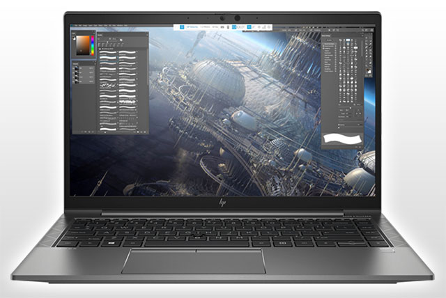HP ZBook Firefly 14 G8 Mobile Workstation, front view