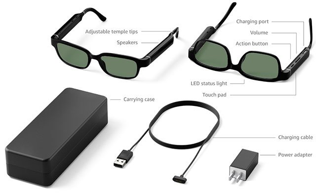 Echo Frames technical specifications