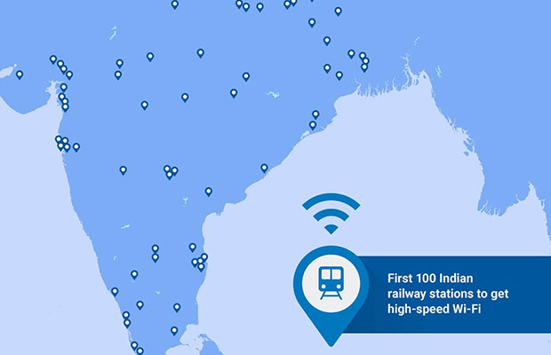 Google To Expand Indias Internet Access With Free WiFi At Train - Free wifi near me map