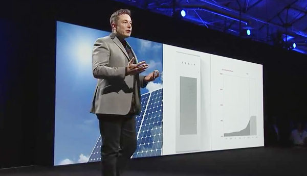 Elon Musk Unveils Tesla S World Changing Powerwall