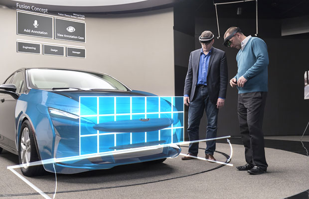 Ford Motor Puts Design Strategy Under the HoloLens