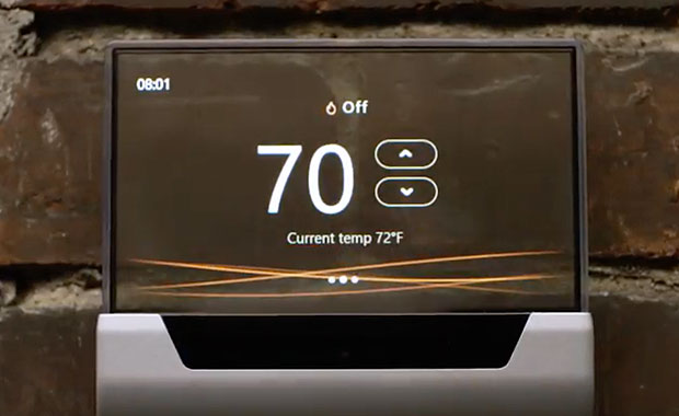 Cortana Makes Smart Thermostat a Glas Act