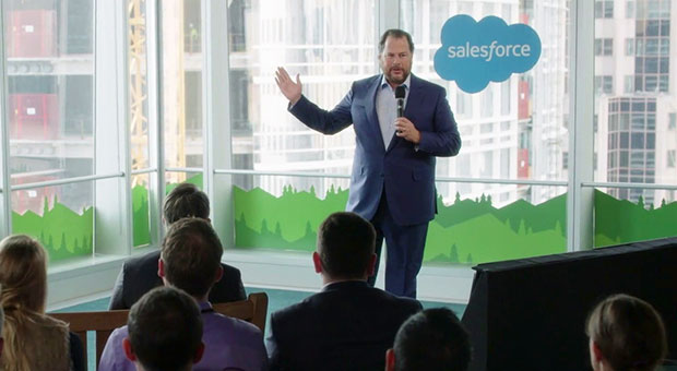 both the crm industry and salesforce have matured but there is still plenty of room for growth