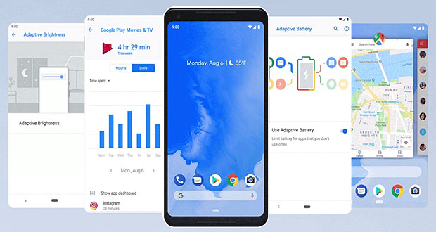 google's android 9 pie