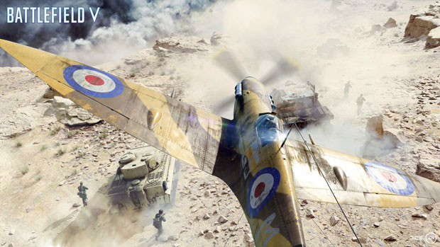 battlefield v takes gamers back to the second world war