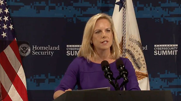 the us department of homeland security announced the national risk management center to defend against cyberthreats