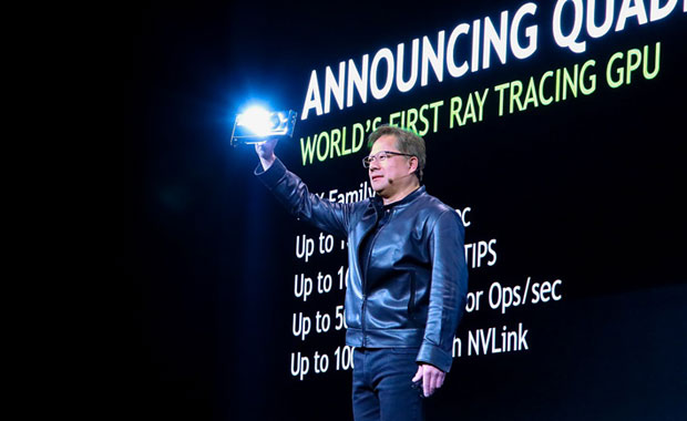 Nvidia's Turing Chip Opens Door to New Virtual Reality Realm