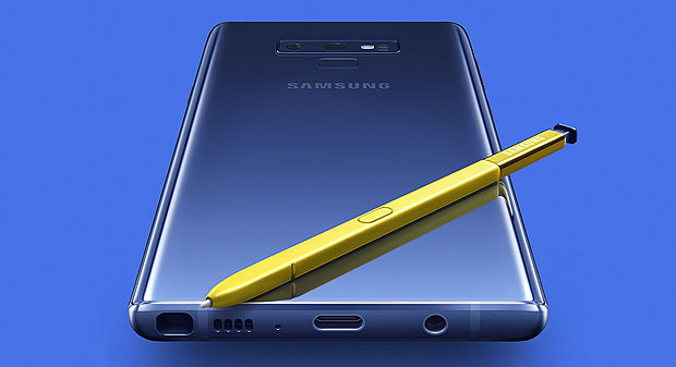 samsung launched its galaxy note9 smartphone along with other interconnected products at its unpacked event