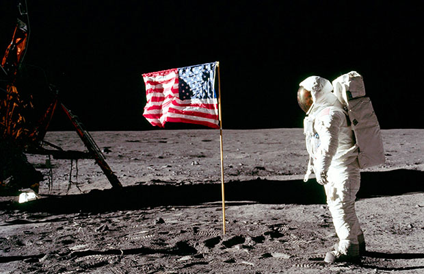 50 years after the first man walked on the moon nasa is planning a mission to return