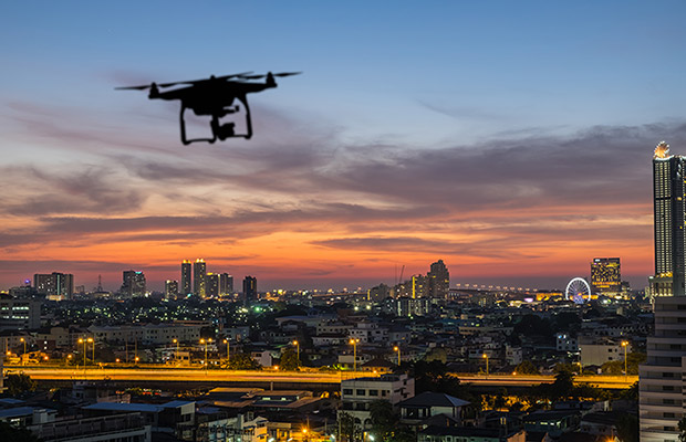 Drones for Hire Take to the Sky