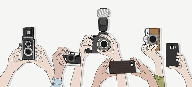 we should all behave as though we're on stage because smartphone cameras mean the whole world could be watching