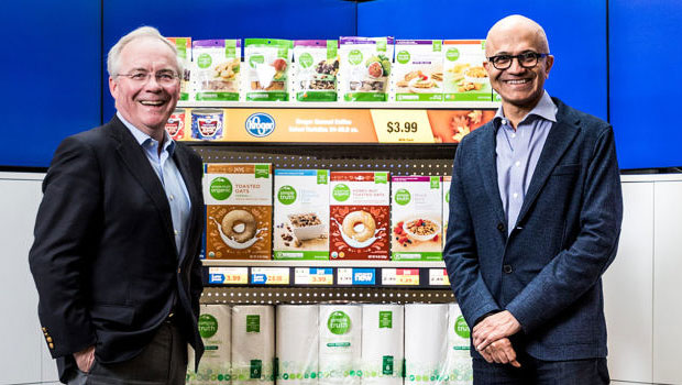 Microsoft, Kroger Ring Up Retail as a Service