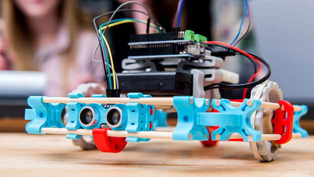 MOREbot Introduces Kids to Robotics Using 3D Printed Parts