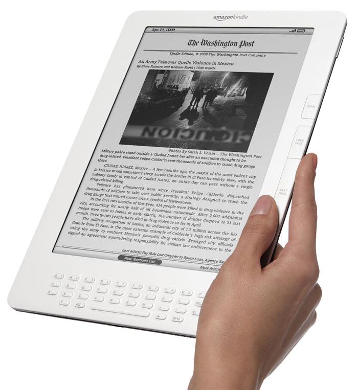 Amazon Kindles Enthusiasm of Library Crowd