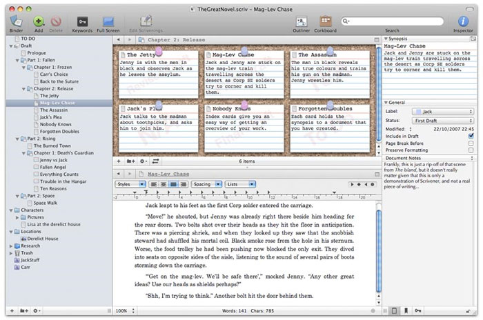 scrivener--screenshot