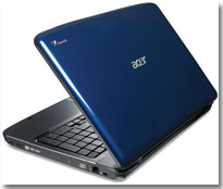 Acer's Aspire AS5738PG Multitouch Notebook