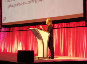 Esther Dyson at the World Congress of the Information Security Forum
