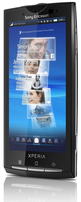 Sony Ericsson's Xperia X10 Android Smartphone