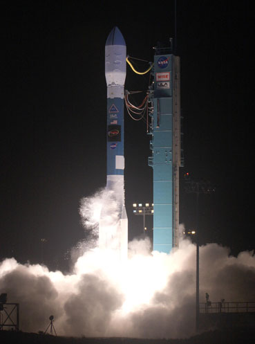 Delta II rocket lift off
