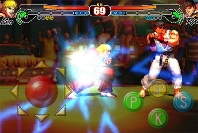 Street Fighter IV iphone App