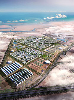 Designs for Masdar City