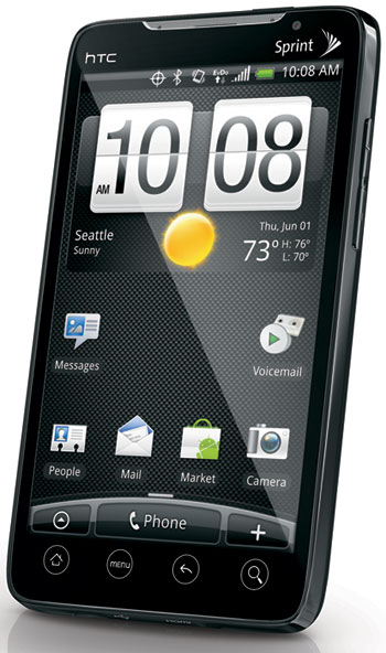 HTC EVO 4G phone from Sprint