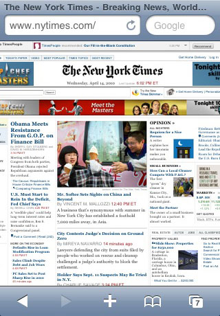 New York Times on Safari