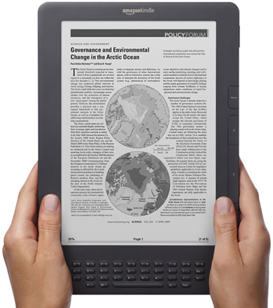 Amazon's New Kindle DX