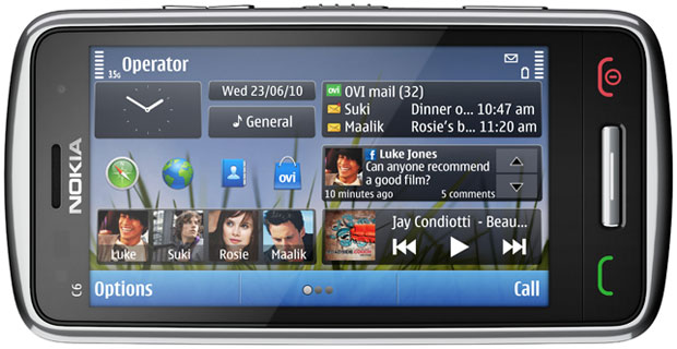 nokia c6 symbian applications