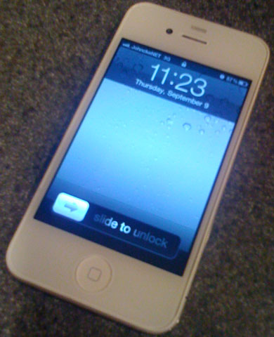 DIY White iPhone 4