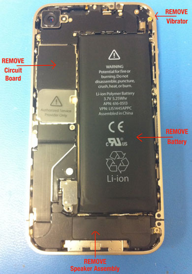 iPhone 4's Guts