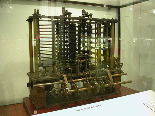 Analytical Engine by Babbage
