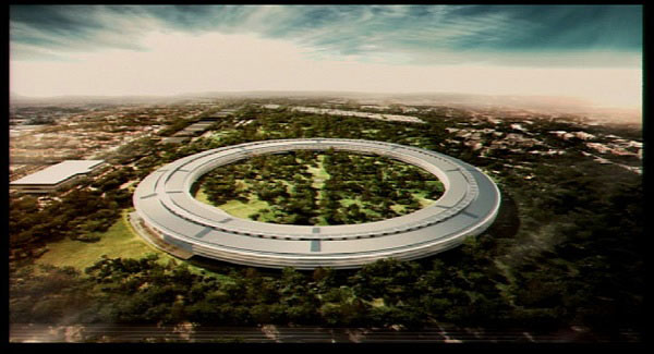 Apple 39 s next hq from infinite loop to millennium falcon for Oficinas de apple