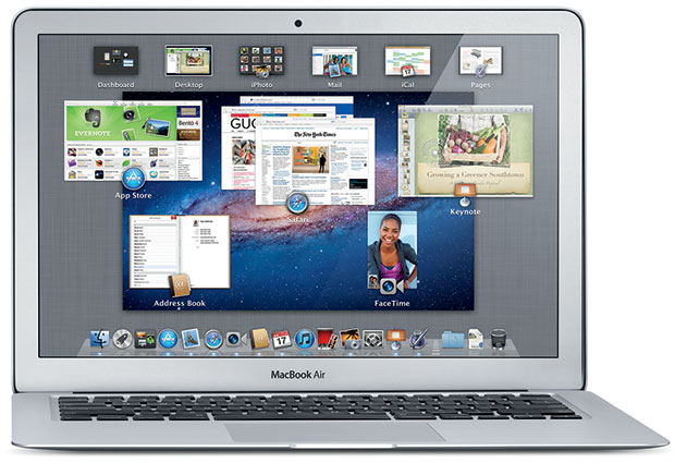 A new MacBook Air with OS X Lion