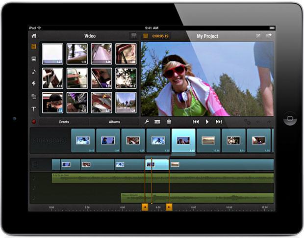 видеоредактор для ipad