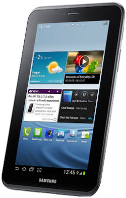 The Samsung Galaxy Tab 2