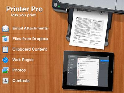 Coupon printer for ipad