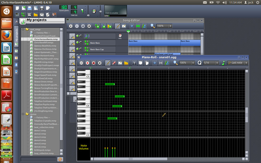 LMMS Is a Fearsome Music-Making Machine