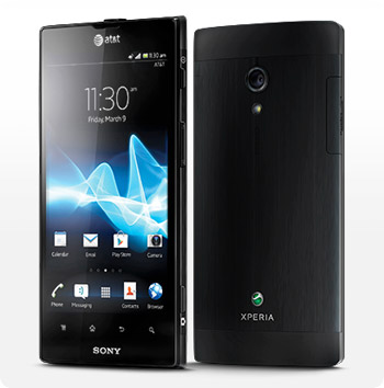 The Sony Xperia Ion
