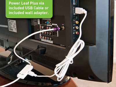 Leaf Plus Amplified Indoor HDTV Antenna