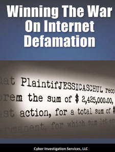 war on internet defamation book cover