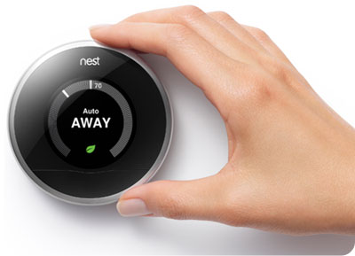 Second-generation Nest thermostat
