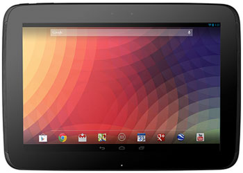 Google's Nexus 10 Tablet