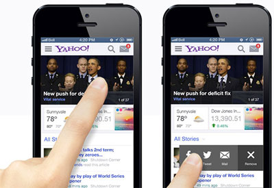 Yahoo Mobile Tips
