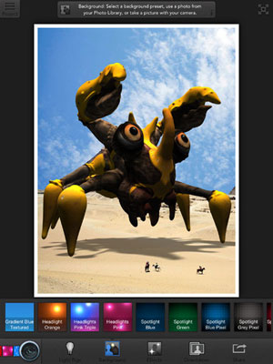 123D Creature App for iPad
