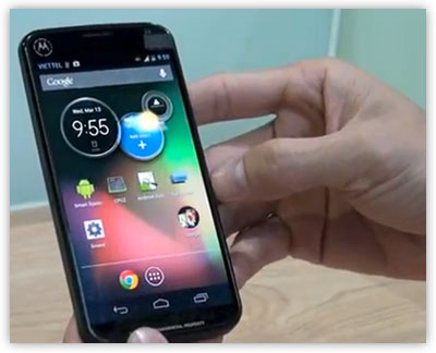 A Possible Motorola-Google Smartphone?