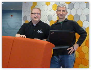 Dave Gruber and Peter Vescuso of Black Duck Software