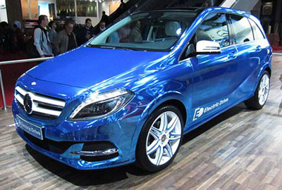 The Mercedes-Benz B-Class Electric Drive Sedan