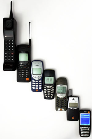 The Evolution of Cellphones